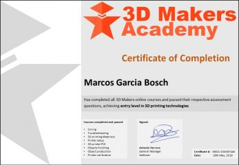 3DMA Certification